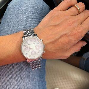Michael Kors MK5020 Crystal Stainless Steel Watch